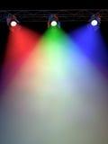 Luzes do estágio Imagem de Stock