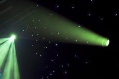 Luzes do estágio Fotografia de Stock