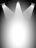 Luzes do estágio ilustração stock
