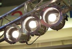 Luzes do estágio no fardo Fotografia de Stock Royalty Free