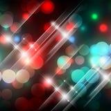 Luzes do feriado Foto de Stock Royalty Free