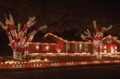 Luzes do feriado Fotos de Stock Royalty Free