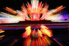 Luzes do feriado fotografia de stock