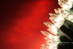 Luzes do feriado com espaço da cópia Imagens de Stock Royalty Free