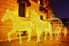 Luzes do festival imagem de stock royalty free