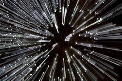 Luzes do jardim zoológico Fotografia de Stock Royalty Free