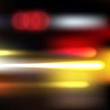 Luzes do movimento Imagem de Stock Royalty Free