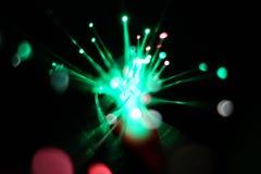 Luzes do movimento da velocidade imagens de stock