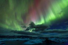 Luzes do norte Imagens de Stock