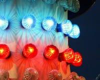 Luzes do passeio do carnaval Fotos de Stock
