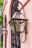 Luzes do patamar da lanterna do gás Foto de Stock