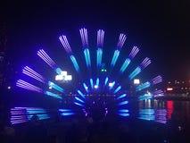 Luzes do pavão Imagem de Stock Royalty Free