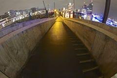 Luzes do porto Foto de Stock