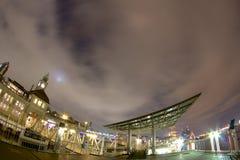 Luzes do porto Imagem de Stock Royalty Free