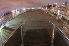 Luzes do porto Fotos de Stock Royalty Free