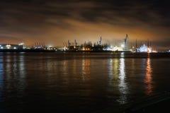 Luzes do porto & x28; p2& x29; foto de stock royalty free
