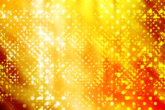 Luzes douradas Fotografia de Stock
