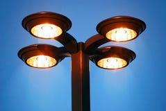 Luzes douradas Imagens de Stock Royalty Free