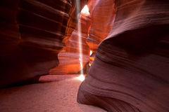 Luzes e camadas da garganta do antílope Imagem de Stock Royalty Free