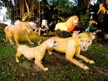 Luzes e festival de lanternas em Singapura Imagem de Stock