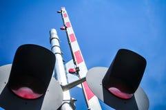 Cruzamento de estrada de ferro Imagens de Stock