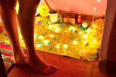 Luzes e sombras Fotografia de Stock Royalty Free