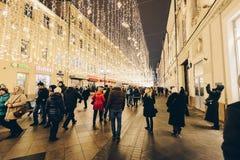 Luzes elétricas Foto de Stock