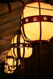 Luzes em kyoto Foto de Stock Royalty Free