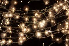 Luzes feericamente Fotos de Stock