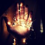 Luzes feericamente Fotografia de Stock