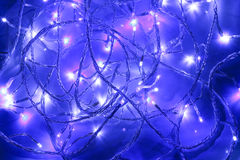 Luzes feericamente do Natal Imagem de Stock Royalty Free