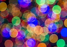 Luzes festivas Pode ser usado como o fundo imagens de stock