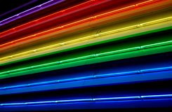 Luzes fluorescentes Fotografia de Stock Royalty Free