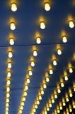 Luzes fora de um teatro Foto de Stock Royalty Free