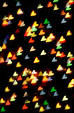 Luzes Heart-shaped imagens de stock royalty free