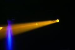 Luzes laser, luzes na fase Fotos de Stock