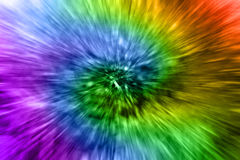 Luzes mágicas do arco-íris Foto de Stock