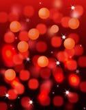 Luzes mágicas do feriado imagens de stock