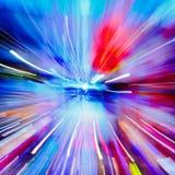 Luzes múltiplas Imagens de Stock