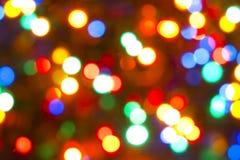 Luzes mágicas Imagens de Stock Royalty Free