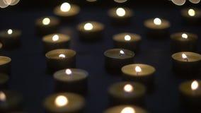 Luzes mornas da vela