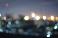 Luzes na ação da noite no parque Imagem de Stock