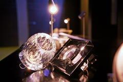 Luzes na exposição Imagens de Stock