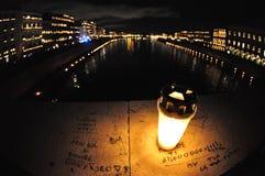 Luzes na noite Imagem de Stock