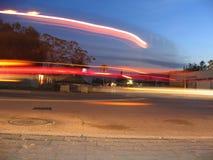 Luzes na noite Fotografia de Stock