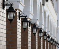 Luzes na parede Imagens de Stock Royalty Free