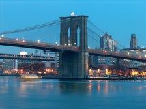 Luzes na ponte Fotografia de Stock