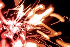 Luzes no movimento Fotos de Stock