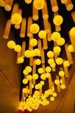 Luzes no museu da ciência & da tecnologia de Terra-Shanghai do arco-íris das crianças Foto de Stock Royalty Free