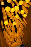Luzes no museu da ciência & da tecnologia de Terra-Shanghai do arco-íris das crianças Imagem de Stock